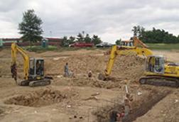building roads